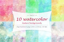 Watercolor texture Vol 1.