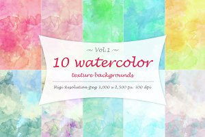 Watercolor texture Vol 1.