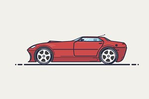 Fictional Sport Car