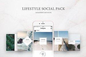 Lifestyle Social Pack / Kit 1