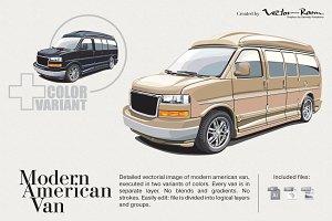 Modern American Van