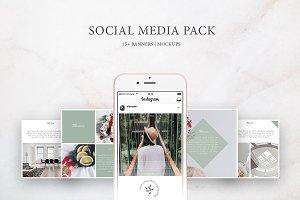 Social Media Pack / Kit 1