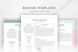 Resume Templates | 7 Styles