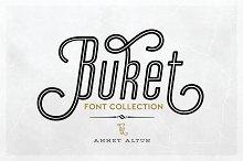 Buket Font Collection