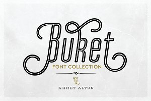 Buket Font Collection