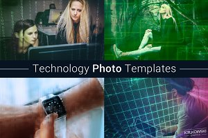 Technology Photo Template