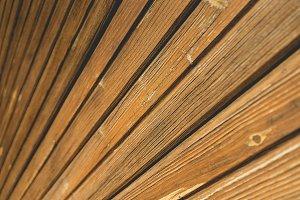 Wood Textured Building