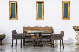 Hacienda Mexicana,living room