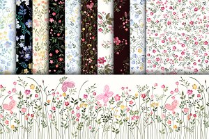 meadow flower patterns
