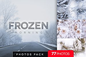 Frozen morning bundle /77pics