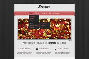 Boxville PSD template