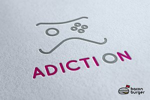 AdictiOn Logo Template