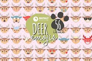Deer Emojis