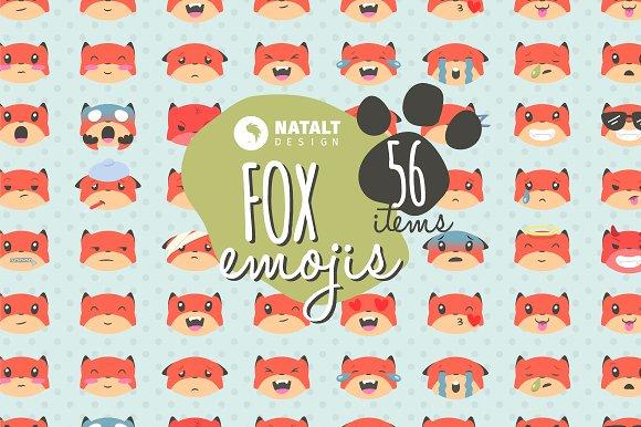 Fox Emojis - Icons