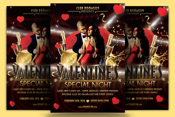 Valentine Special Flyer Template