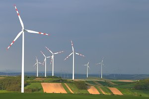Group of wind power