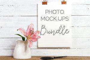 Floral Mockup Bundle (9 Images)