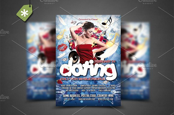 Dating Flyer Template
