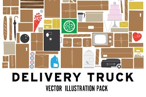 Delivery truck collection