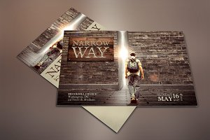 Narrow Way Flyer Poster Template