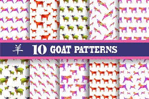 Goat Patterns (New Year 2015 symbol)