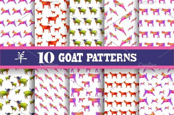 Goat Patterns (New Year 2015 symbol)