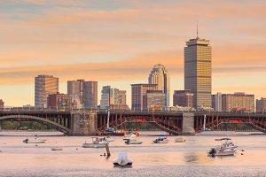 View of Boston Massachusetts
