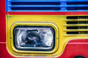 Colorful Truck Headlight