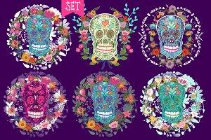 Ornamental skulls