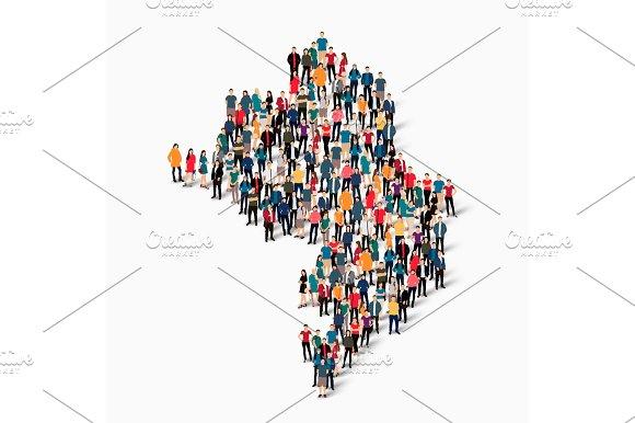 people map country Nagorno-Karabakh vector