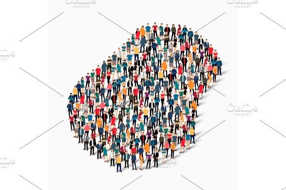 people map country Nauru vector