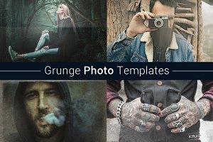 Grunge Photo Template