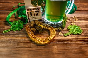 St Patrick's day concept