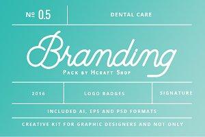 Dental Branding Pack 0.5