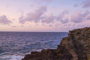 Hawaii Cliffs at Sunrise