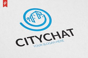 City Chat Logo