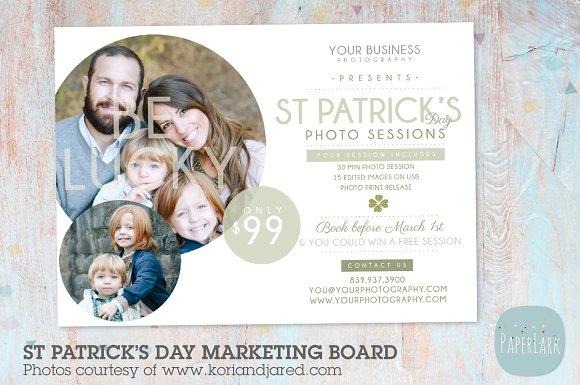 IX001 St Patrick's Day Marketing