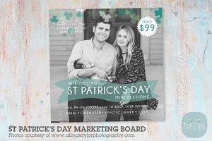 IX002 St Patrick's Day Marketing