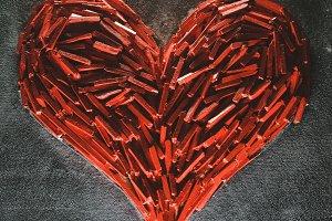 Lovely red heart