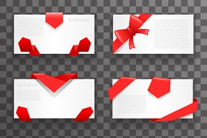 Envelope greeting cards