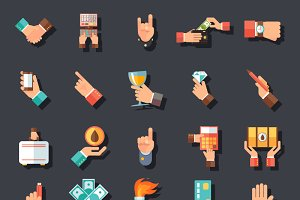 Hands Symbols Accessories