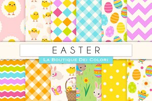Easter Seamless Digital Paper