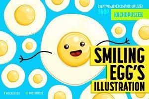 Smiling Egg's Illustration