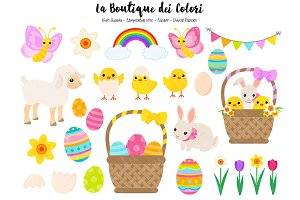 Cute Easter Clip art