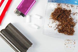 homemade cigarettes