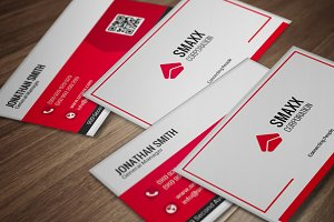 Modern Corporate Business Card CM002