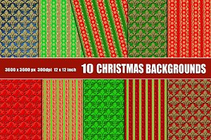 Christmas scrapbook backgrounds gold