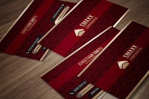 Luxury Corporate Business Card CM004