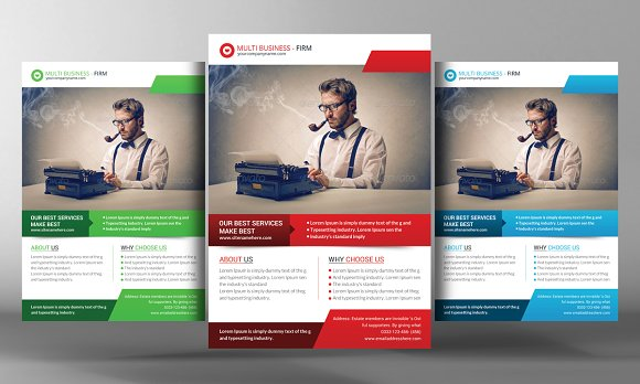 Marketing Business Flyer Template Flyer Templates on Creative Market – Product Flyer Template