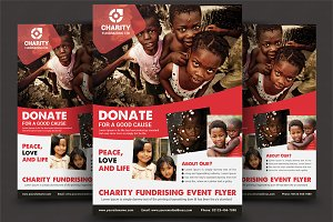 Charity Donation Flyer